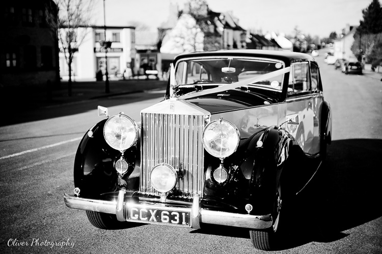 wedding car peterborough