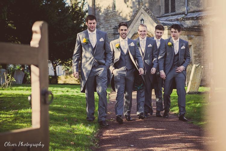 wedding at Alwalton Church Peterborough