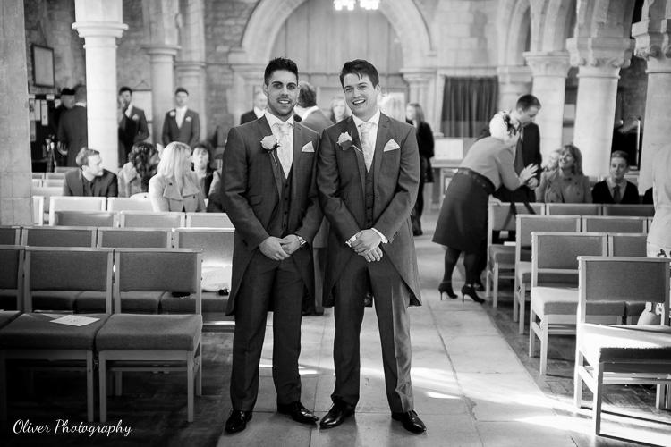 wedding Alwalton Church Peterborough