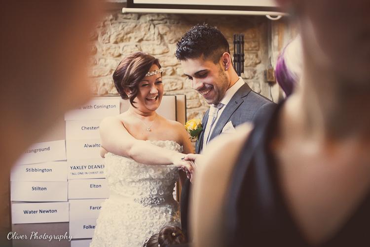 Alwalton Church wedding photographs
