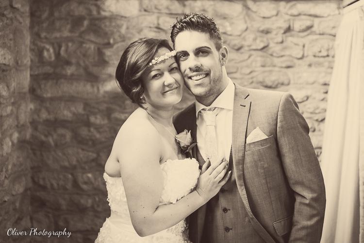 wedding at Alwalton Church