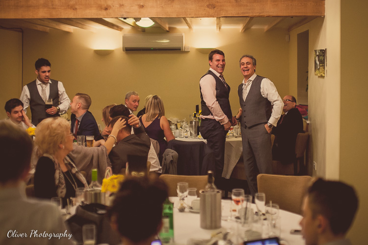 evening wedding reception at Chequered Skipper Ashton