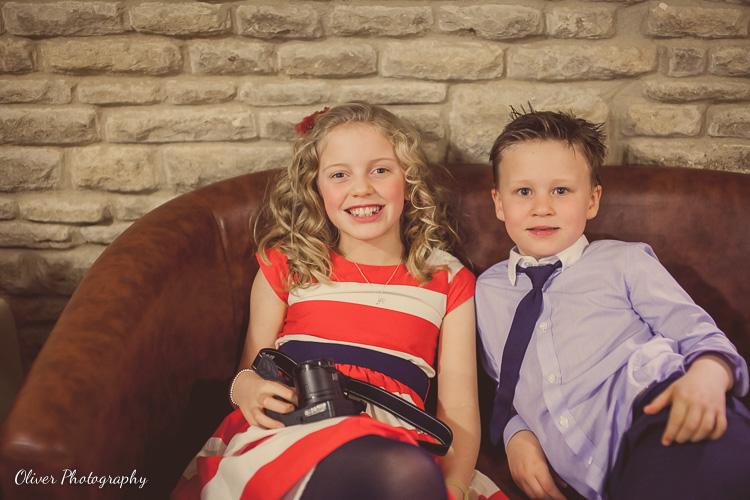 kids on the wedding