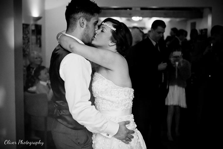 first dance wedding at Chequered Skipper Ashton