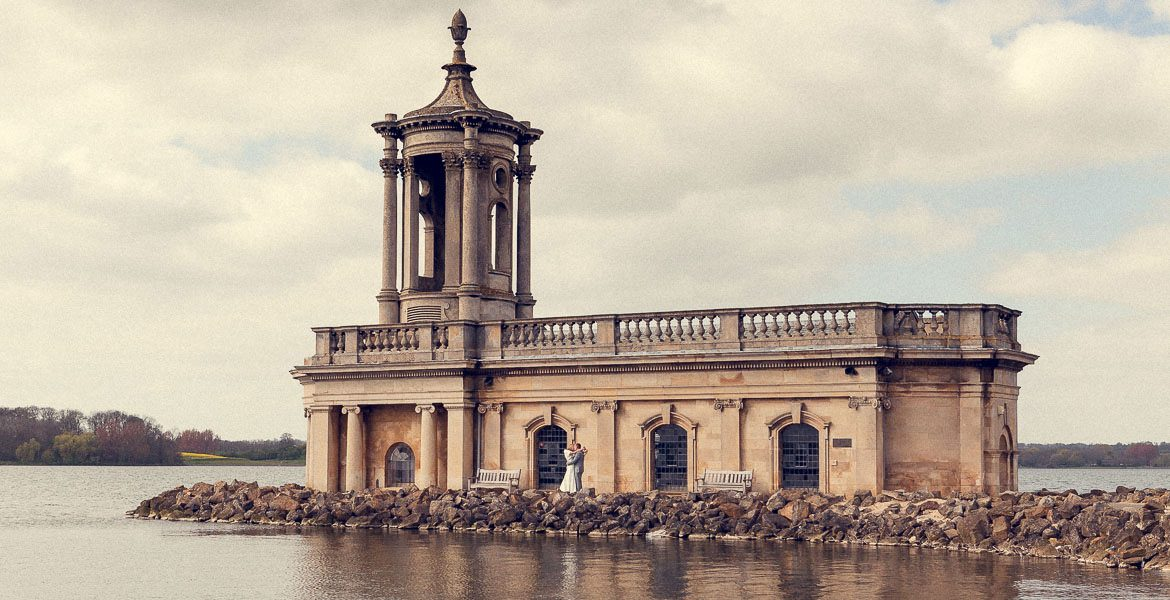 wedding at normanton church