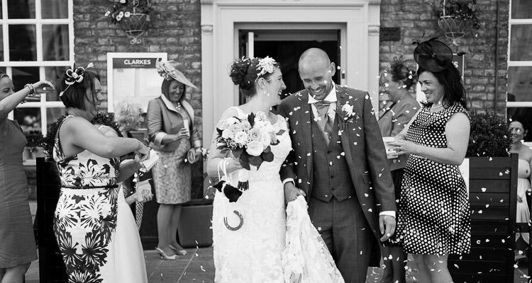 wedding at Clarkes Peterborough