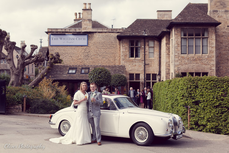 wedding photography at William Cecil Stamford