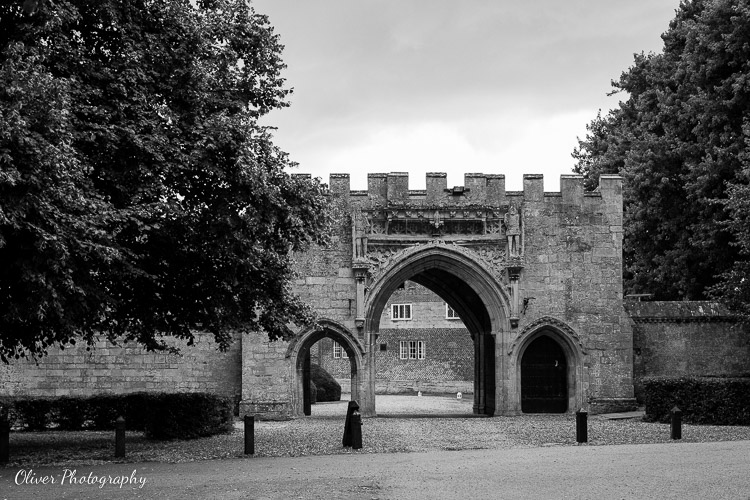 Medieval gateway at Hinchingbrooke House