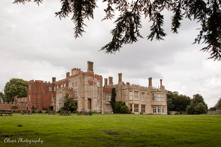 Hinchingbrooke House view from the back