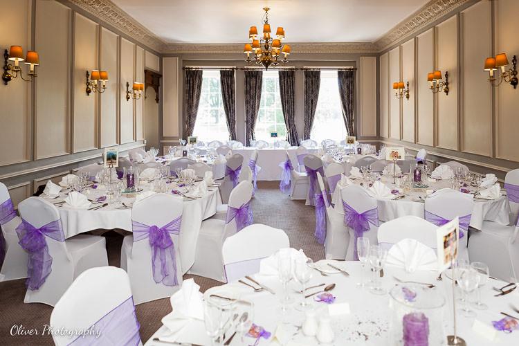 wedding reception at Rothley Court
