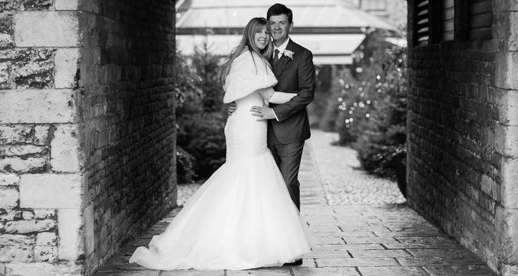 Winter wedding at George Hotel Stamford