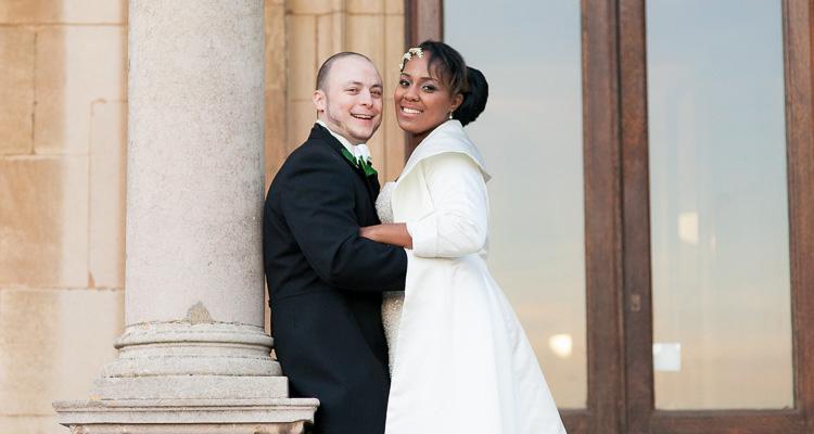 Thorpe Hall Peterborough wedding ceremony