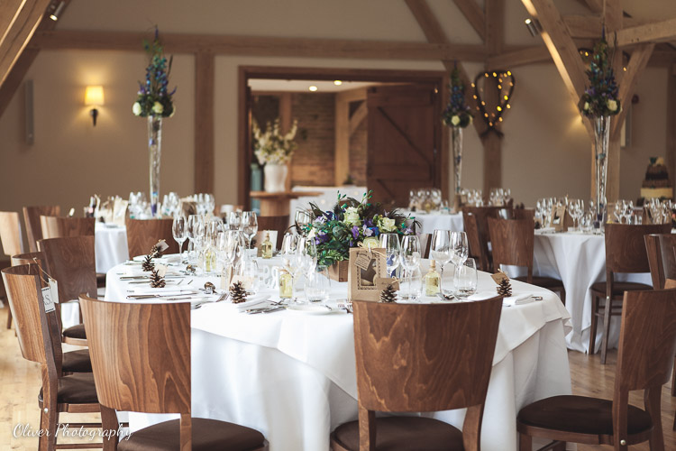 wedding reception at Bassmead Manor Barns