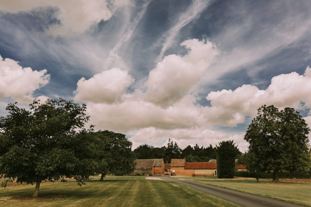 Bassmead Manor Barns view from outside