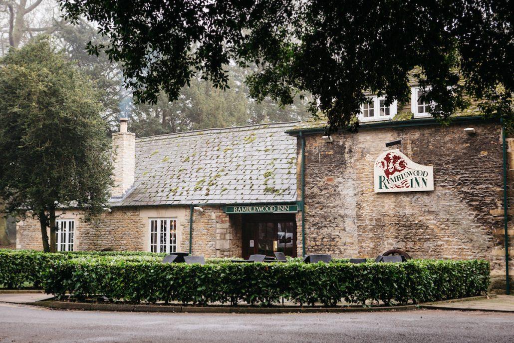 ramblewood pub at Orton hall