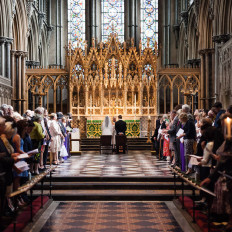 Bizzie & Craig – Ely Cathedral Wedding Photography