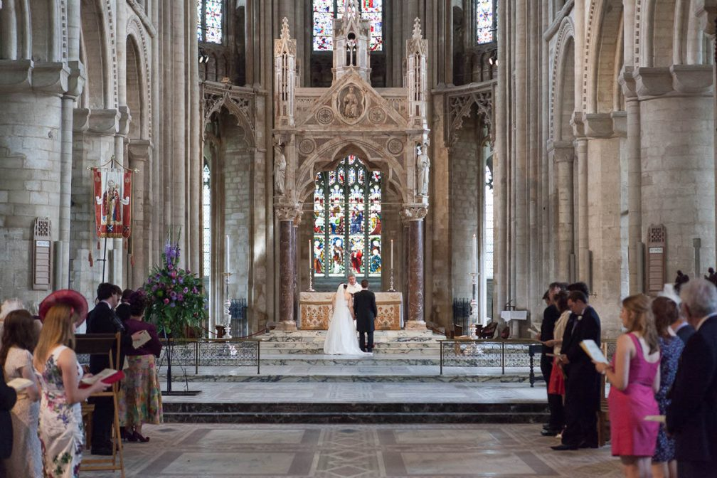Peterborough Cathedral Wedding Photography