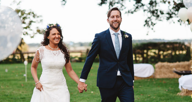 rustic country wedding in huddon