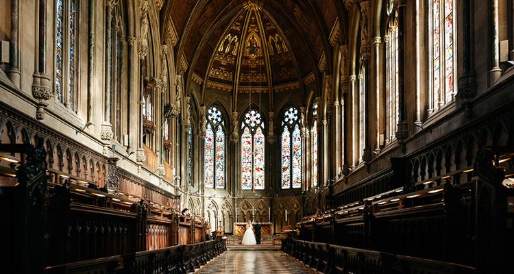 st johns college chapel wedding photography