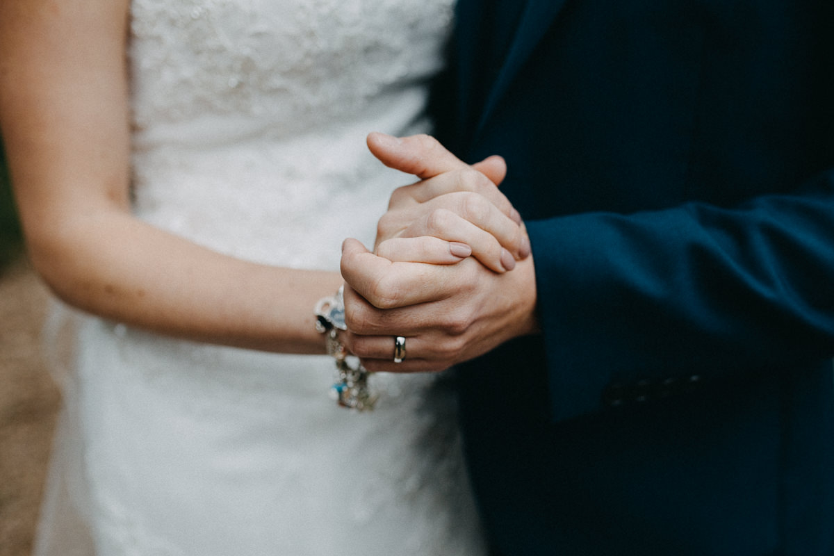 newlywed hands