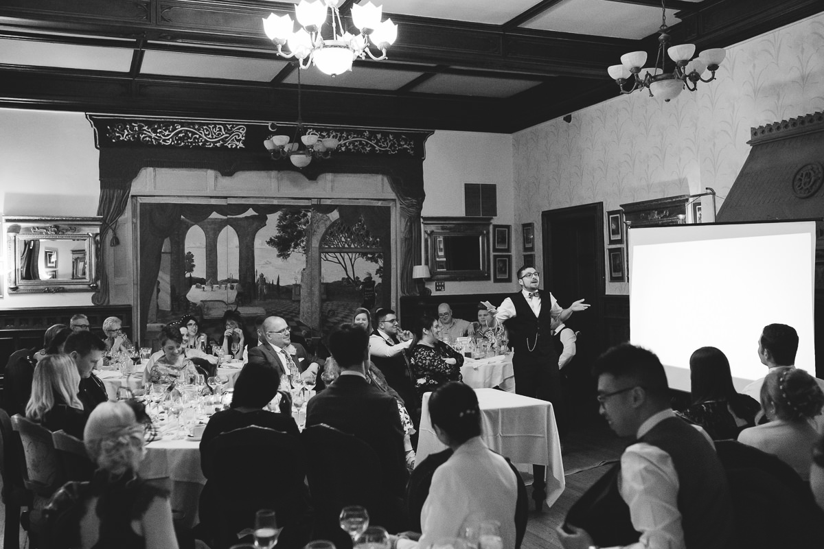 speeches at Wroxall Abbey