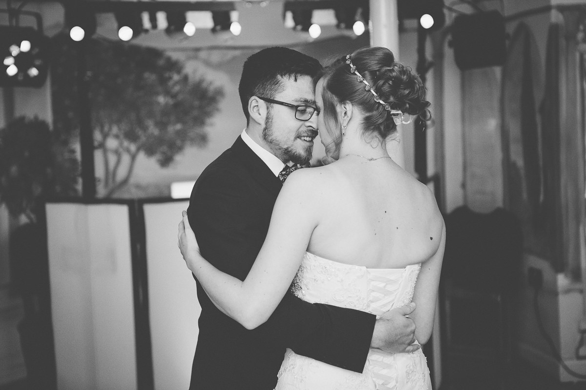 first dance Wroxall Abbey wedding
