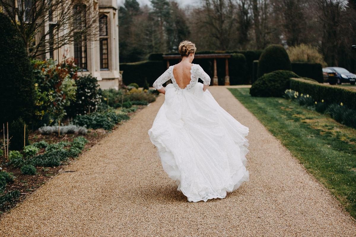 runaway bride Rushton Hall