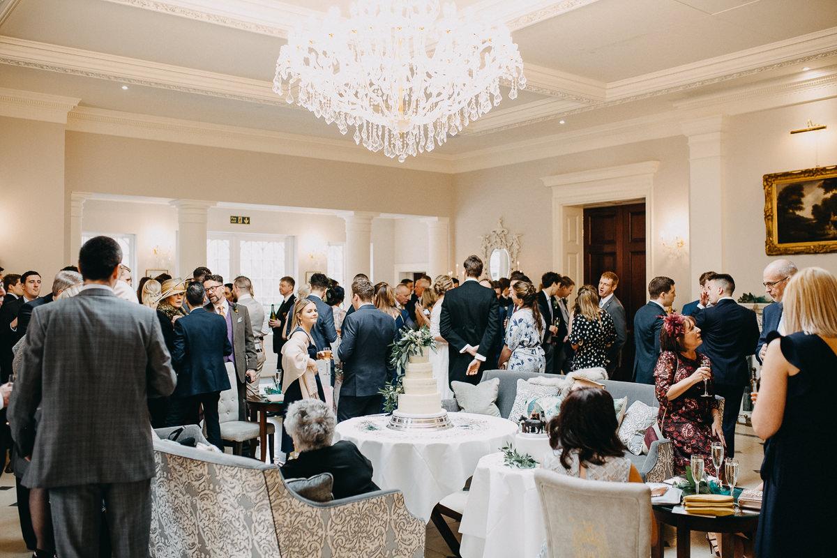 wedding reception Rushton Hall