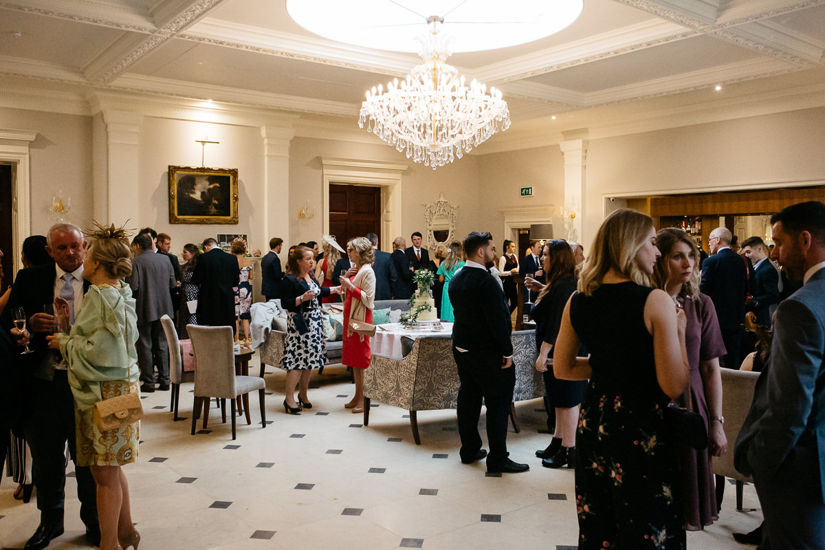 real wedding Rushton Hall